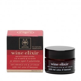Anti-wrinkle Eye and Lip Cream with (Beeswax and Red Wine)