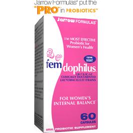 Fem-Dophilus® 5 Billion per Cap - 60 Caps