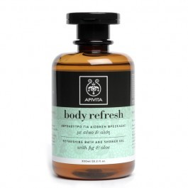 Refreshing Bath & Shower Gel with (Aloe & Fig)